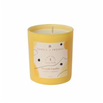 Candle and Friends - No.1 French Vanilla Small Cam Mum