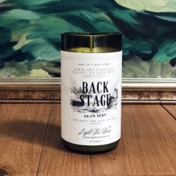 Light The Wine - Back Stage Candle