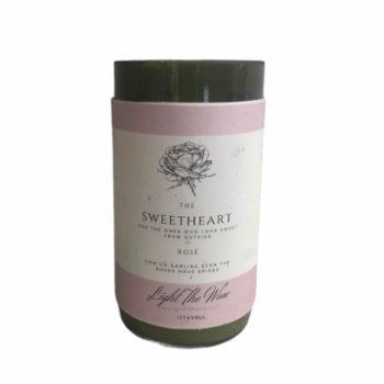 Light The Wine - Sweetheart Candle