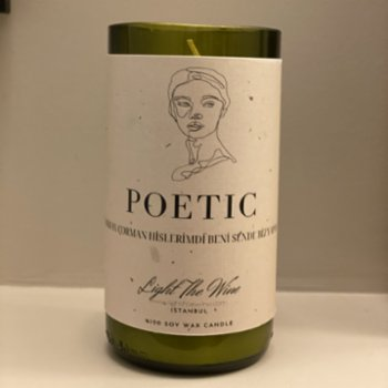 Light The Wine - Poetic Candle
