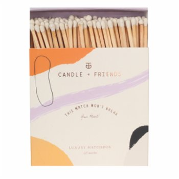 Candle and Friends - No.3 Spicy Mimosa Luxury Matchbox