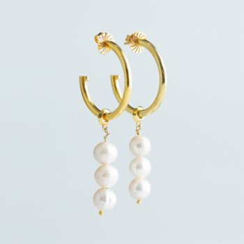 CHASING PIECES - Naxos Hoop Earring