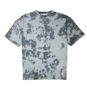 Not Enough Color - OvOversize Gray Tie Die Tshirt - I
