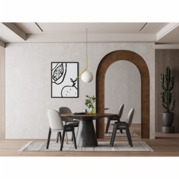 Atelier I 2n - Abstract Lines No1 Poster