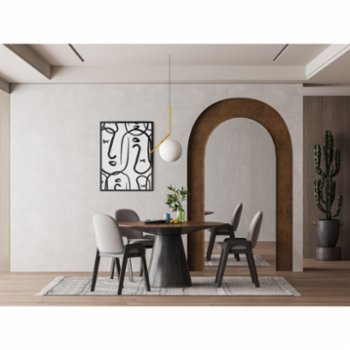 Atelier I 2n - Abstract Lines No5 Poster