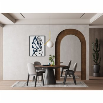 Atelier I 2n - Abstract Lines No10 Poster