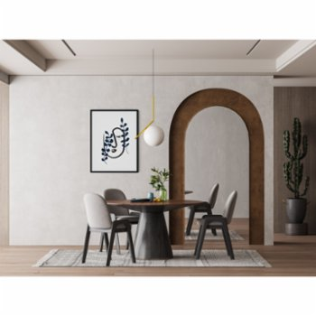 Atelier I 2n - Abstract Lines No11 Poster