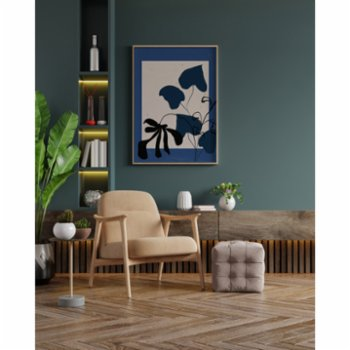 Atelier I 2n - Abstract Lines No13 Poster