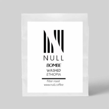 Null Coffee Roasters - Ethiopia - Bombe Washed Coffe