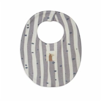Auntie Me - Double Sided Irregular Stripes & Dots Agate Bib