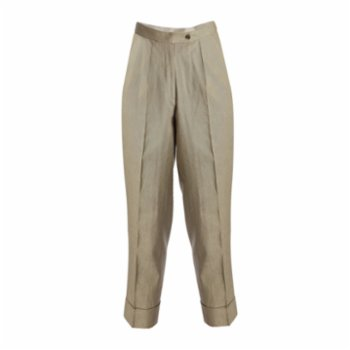 Equpe Studio - Tailored Tapered Linen Trousers
