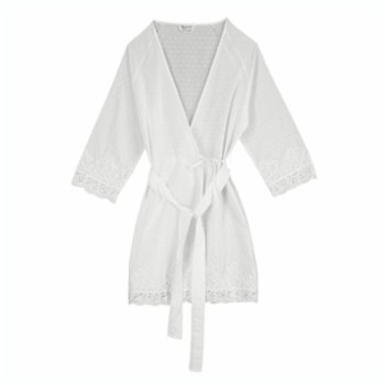 Miespiga - Pearl Lace Bride Dressing Gown