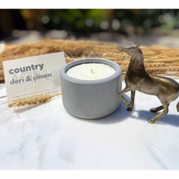 Lumina Candles - Concrete Edition Country  Candle
