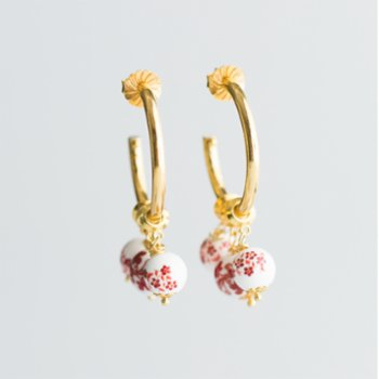 CHASING PIECES - Mary Hoops Earring
