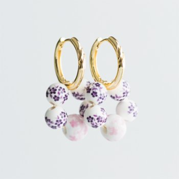 CHASING PIECES - Pinky Pie Earring