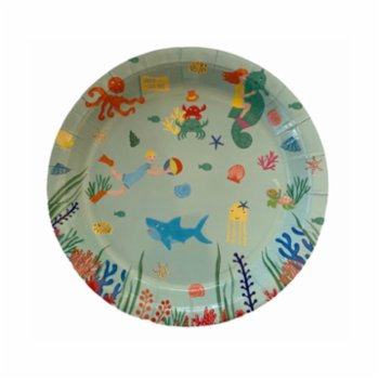 BalinMandalin - Under the Sea Plate, 8 in a Package