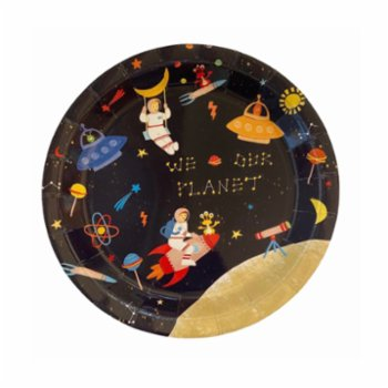 BalinMandalin - Into Space Plate, 8 in a Package