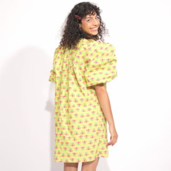 Pemy Store - Endemic F'lovers Inverted Tulip Dress