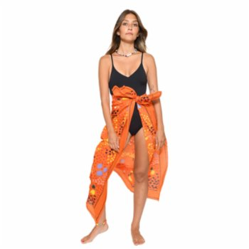 Color Manifesto - Tanned & Tipsy Sarong & Scarf