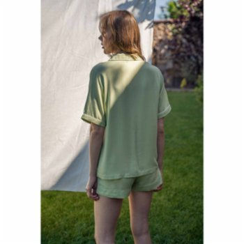 Bed and Beyond - Piped Short Pyjama Bottom