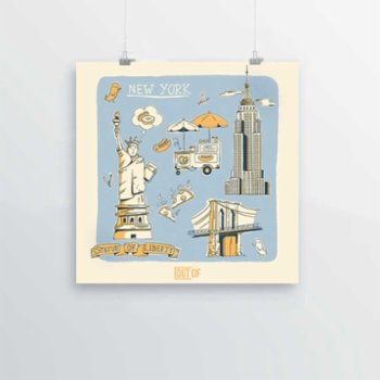 Out Of - New York Print