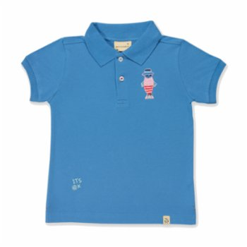 Beetle Beez - Cool Flipper | Short-Sleeve Embroidered Polo T-Shirt
