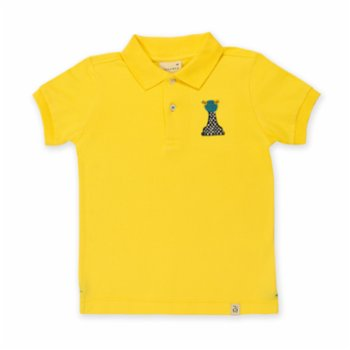 Beetle Beez - Chess The Yellow Frog | Short-Sleeve embroidered Polo T-Shirt