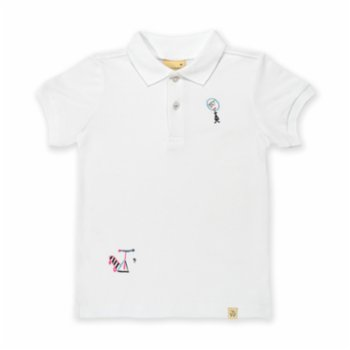 Beetle Beez - Dizzy Scooter | Short-Sleeve embroidered Polo T-Shirt