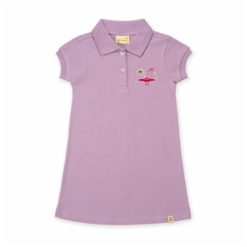 Beetle Beez - Flying Hat | Short-Sleeve embroidered Polo Dress