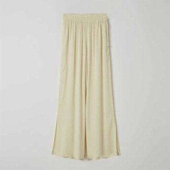 Lords X Lilies - Flared Viscose Trousers Slit