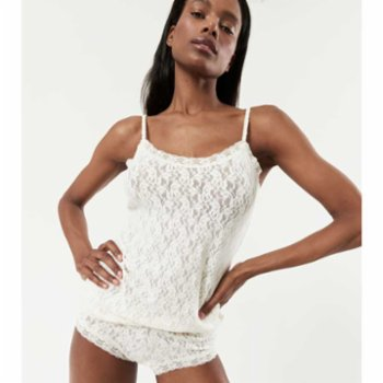 Lords X Lilies - Lace Undershirt with Thin Straps