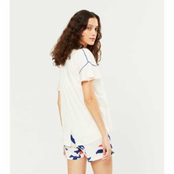 Lords X Lilies - Pyjama Set With Frill Details