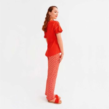 Lords X Lilies - Pyjama Set With Frill Details I