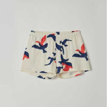 Lords X Lilies - Cotton Shorts with Allover Print