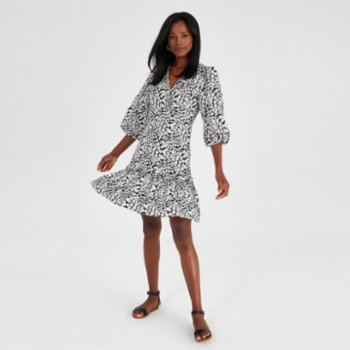 Alleggria - Ashley Double Breasted Short Dress