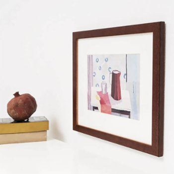 Elkare - Bergama Solid Wood Picture Frame, Wall Mounted