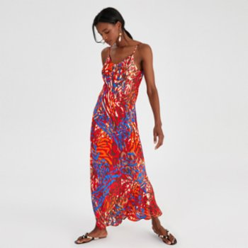 Alleggria - Diana Long Dress With Straps
