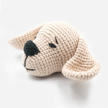 Wood&Tail - Hand Knitted Toy Dog