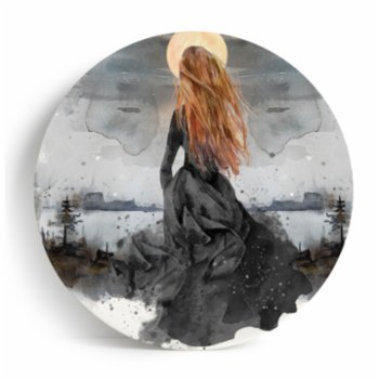 Linden&Blanc - Alya and the Moon Collection Melamine Plate Set 4 Pieces