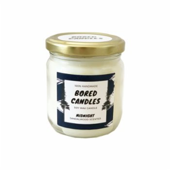 Bored Candles - Midnight Soy Wax Candle