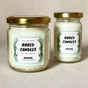 Bored Candles - Mindful Soy Wax Candles