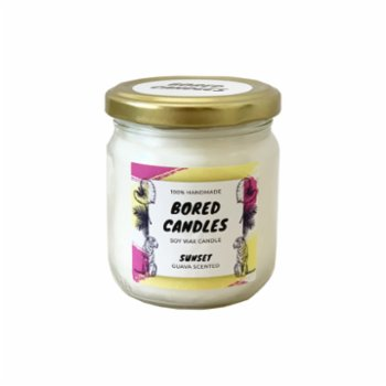Bored Candles - Sunset Soy Wax Candles