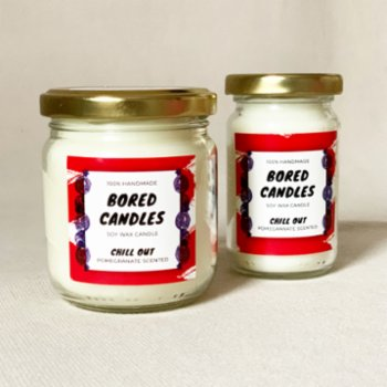 Bored Candles - Chill Out Soy Wax Candles