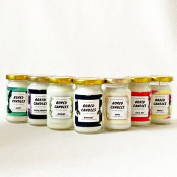 Bored Candles - Midnight Small Soy Wax Candle
