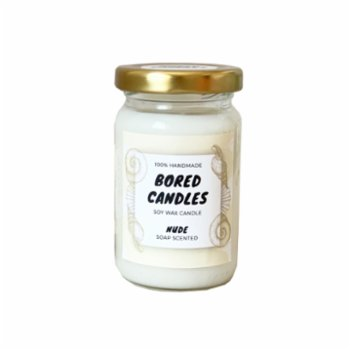 Bored Candles - Nude Soy Small Wax Candles