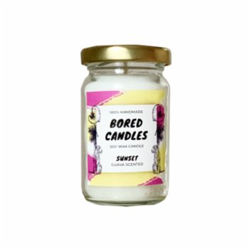 Bored Candles - Sunset Small Soy Wax Candles