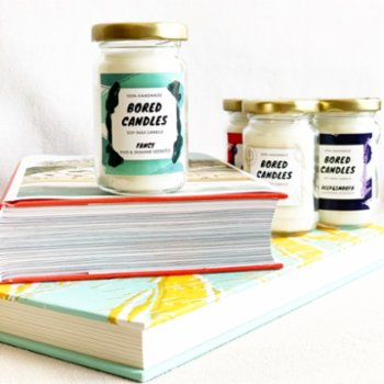 Bored Candles - Fancy Small Soy Wax Candles