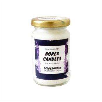 Bored Candles - Deep&Smooth Small Soy Wax Candles