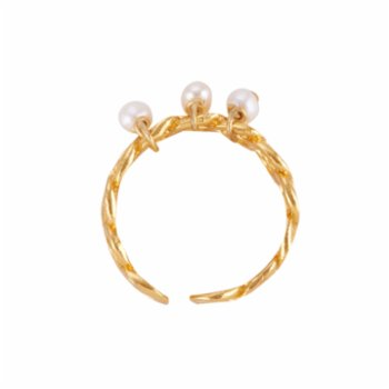10dita - Pearly Chain Ring