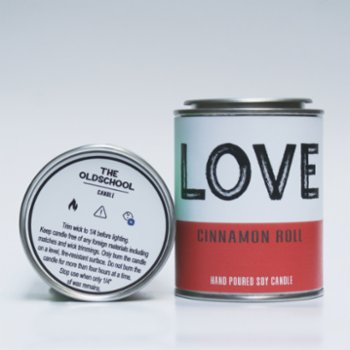 The Old School Candle - Love Candle